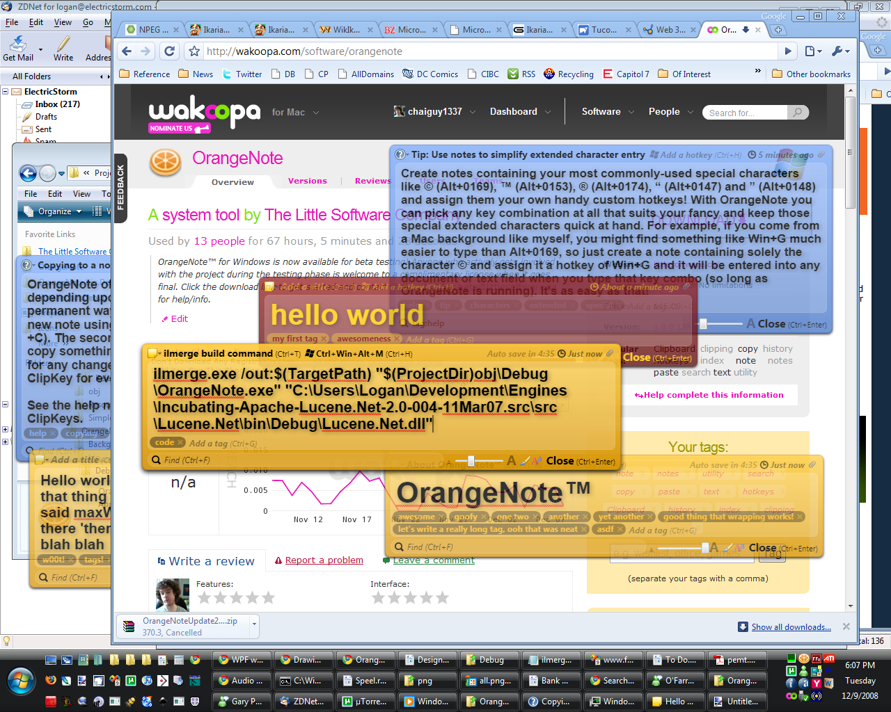 Windows 7 OrangeNote 1.0.2.1 full